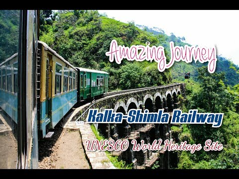 Kalka To Shimla Railway | Amazing Journey - UNESCO World Heritage Site | Himachal Trip - Day 1