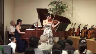 00072 藤井美奈子 ヴァイオリン サロン・コンサートより バルトーク:ル...