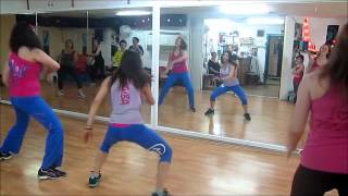 dance again warm up -zumba with lilach yacov-זומבה עם לילך יעקב