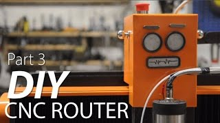 Fixed Gantry CNC Router Build Part 3