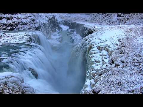"Gullfoss ""The Golden Falls"" Waterfall in Iceland in HD"