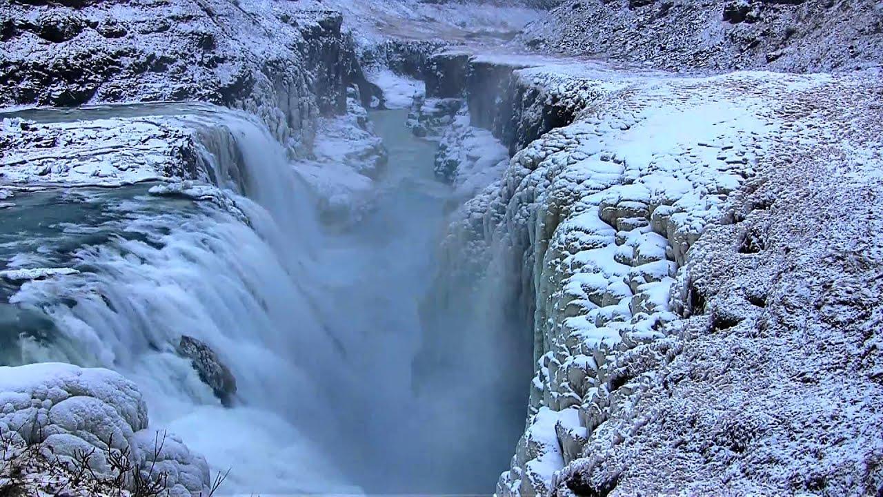 Falls Wallpaper Waterfall Gullfoss Quot The Golden Falls Quot Waterfall In Iceland In Hd