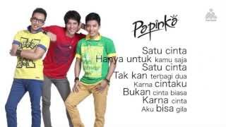 Repeat youtube video Papinka - Hitungan Cinta (Official Lyric Video)