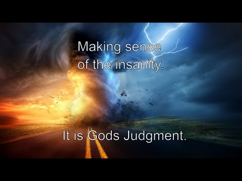 Moral Insanity. What's Happening To Our Country? It's The Judgment Of Romans 1