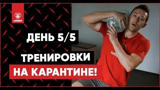 На карантине! День 5/5. Программа тренировок в домашних условиях. Как похудеть в домашних условиях