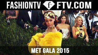 Met Gala 2015 Red Carpet Arrivals ft. Beyonce , Kim Kardashian & Rihanna  | FashionTV