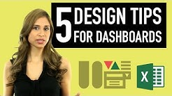 5 Design Tips for Better Excel Reports & Dashboards
