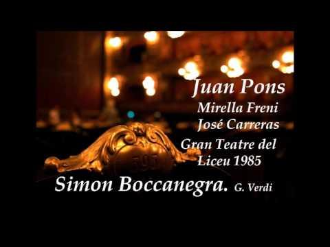 Simon Boccanegra. G. Verdi. Pons - Freni - Carreras.