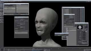 AlienTest - Teeth, eyes and some wrinkles