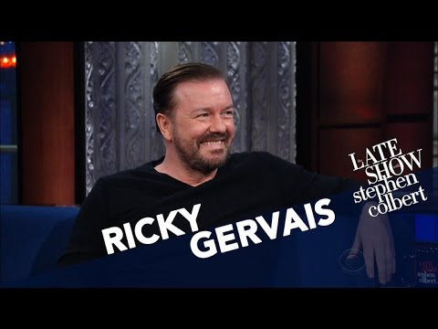 Ricky Gervais And Stephen Disagree On 'Lord Of The Rings'
