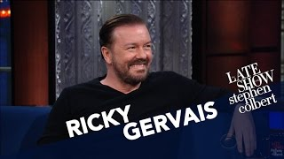 Ricky Gervais And Stephen Disagree On
