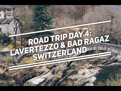 Road trip day 4: SWITZERLAND - Lavertezzo and Bad Ragaz. Going to Lichtentein. Vaduz in March