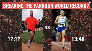 Breaking the parkrun WORLD RECORD of 13:48?!