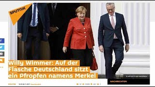 Willy Wimmer: Auf der Flasche Deutschland sitzt ein Pfropfen namens Merkel