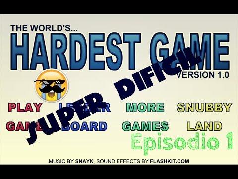 THE WORLD HARDEST GAME | EPISODIO 1