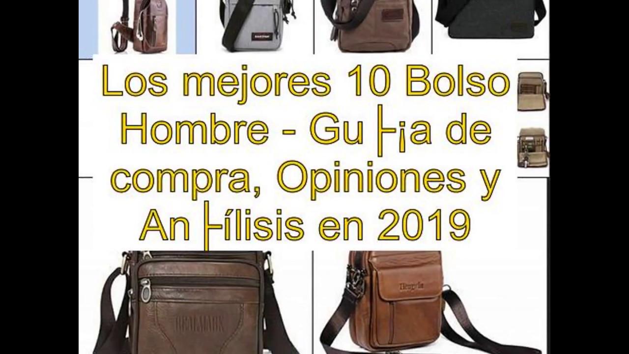 8a12f3843 Los mejores 10 Bolso Hombre - Guía de compra, Opiniones y Análisis en 2019