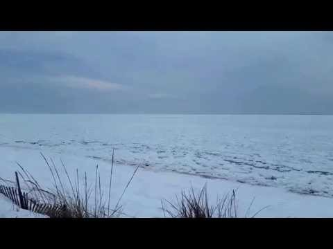 Frozen Cape Cod Bay