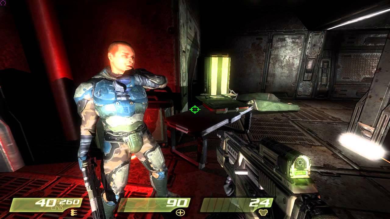 Quake 4 + Evolved Hi-Res Mod