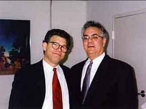 Barney Frank Fighting Al Franken - Why?