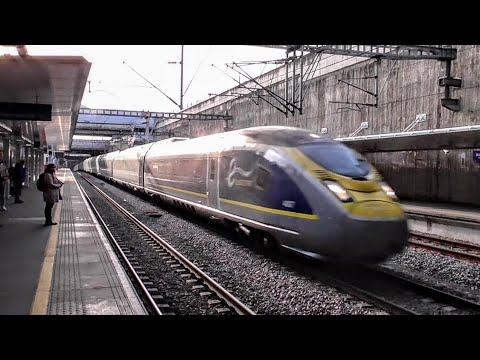Trains At Stratford International, HS1 | 06/04/2018