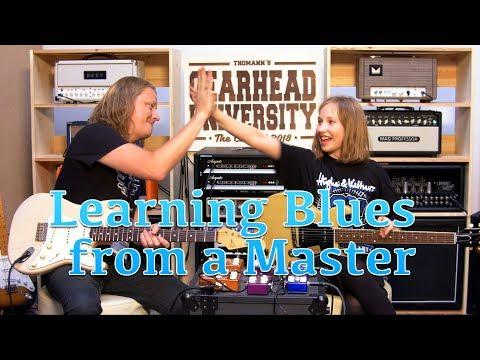 Matt Schofield is teaching me blues at #TGU18