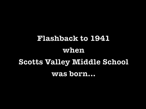 Flashback to 1941 when Scotts Valley Middle School was born...