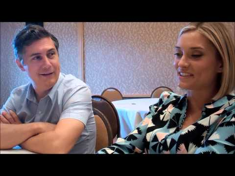 Chris Parnell & Spencer Grammer on Rick & Morty, incest and dirty jokes @ Comiccon 2014
