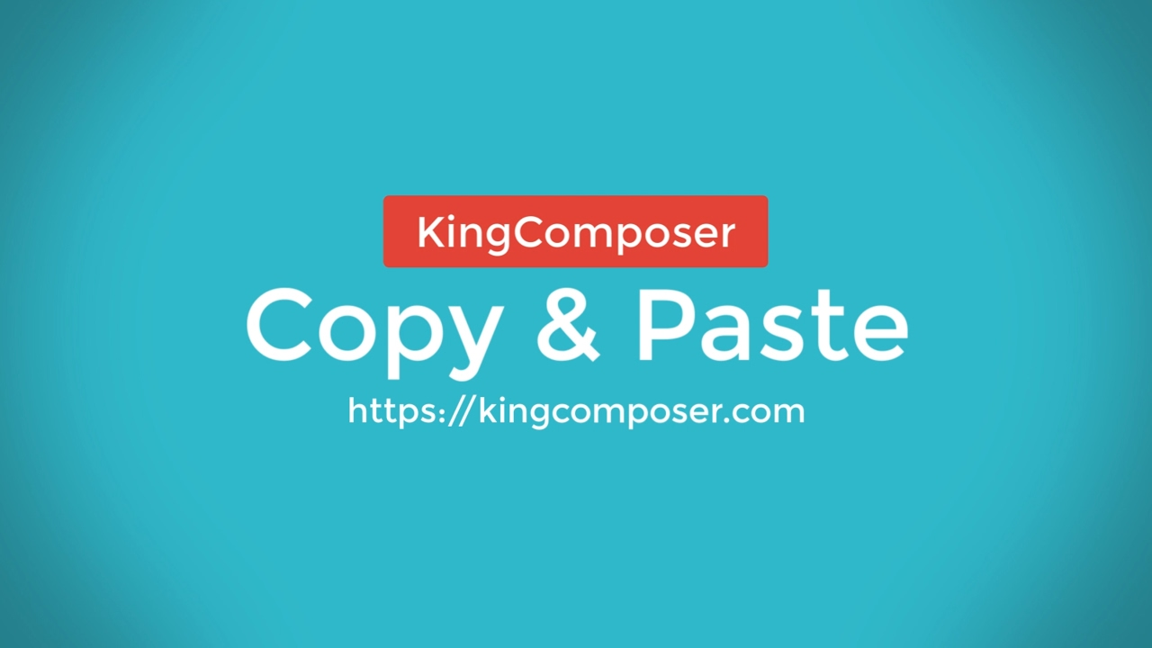 King Composer | High performance page builder plugin for WordPress