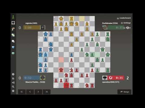 Not Enough Time | 4 Player Chess / Let's Play 29