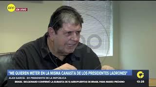"""Alan García: """"El fiscal miente"""" al sostener que pago de conferencia era un soborno"""