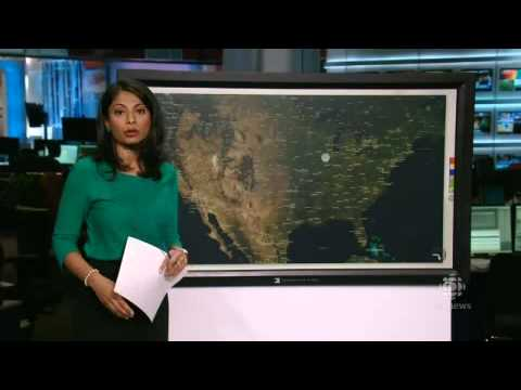 Violent storm system hits U S  Midwest   Weather