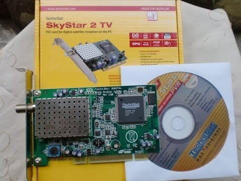 driver carte satellite skystar 2 windows 7