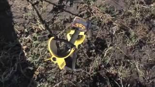 Коп. Что можно найти на огороде за 15 часа и лайфхак с лопатой