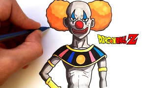 DRAW THE CLOWN (GOD OF DESTRUCTION) - DRAGON BALL SUPER