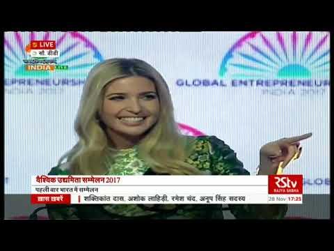 Ivanka Trump's Speech| Global Entrepreneurship Summit (GES), Hyderabad