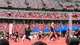 Japan Summer Festival JAS dance 2018@national stadium
