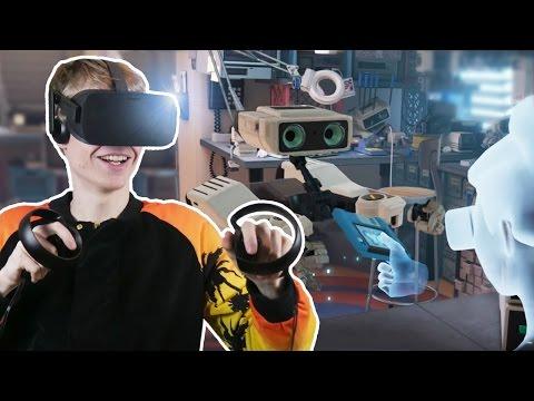 FIRST LOOK AT OCULUS TOUCH | First Contact VR (Oculus Rift CV1 Gameplay)