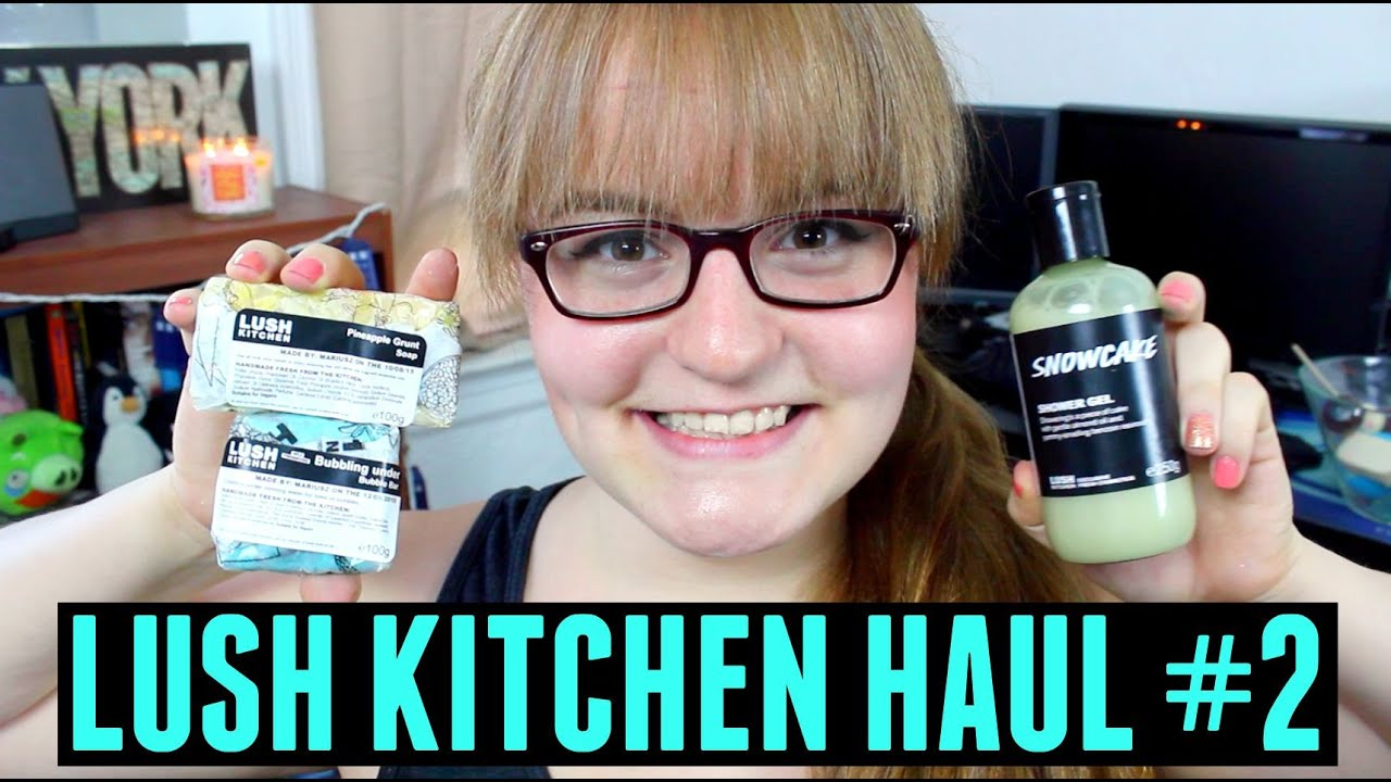 LUSH KITCHEN HAUL #2 | Exclusive Lush Products - YouTube