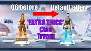 I Secretly Tried Out For MY OWN Fortnite Clan and I Didn't Get In... Extra Thicc Clan