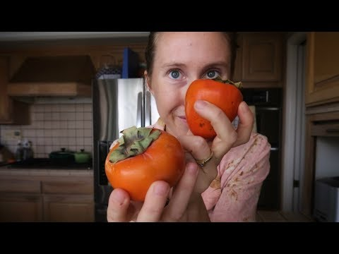 Why Persimmons Make Your Mouth Dry