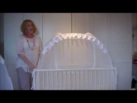 Pop-Up Baby Crib Tent Information