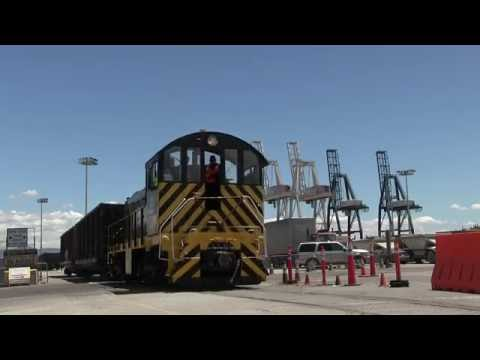A Busy Day Switching The Piers With The San Francisco Bay RR 6-16-16