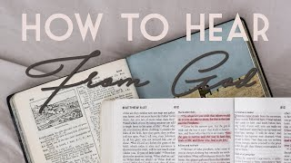 Learning How to Hear From God