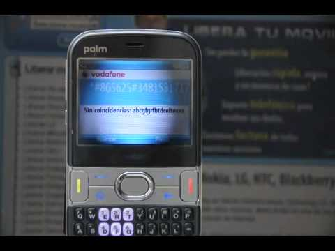Liberar PALM Treo 500v, cómo desbloquear PALM Treo 500v de Vodafone Movical Net