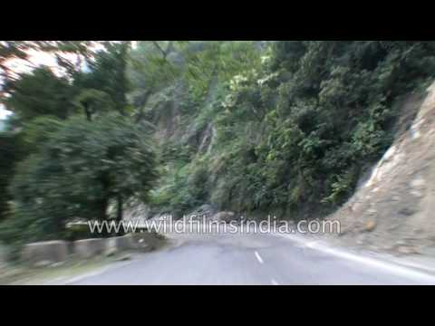 Driving from Glasshouse on the Ganges in Shivpuri to Rishikesh