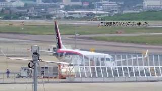 三菱MRJ テスト中 MITSUBISHI REGIONAL JET