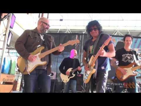 Melbourne Guitar Show 2016 jam - Cold Shot
