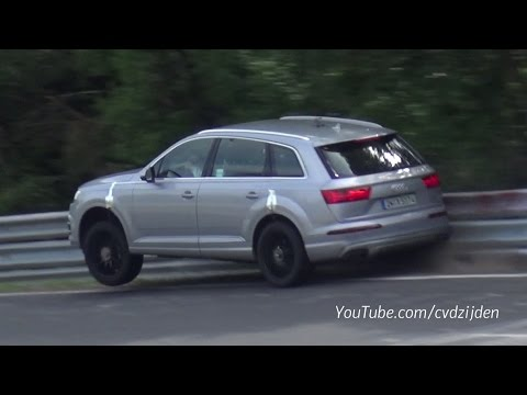 2016 Audi Sq7 Crash At The Nurburgring Youtube