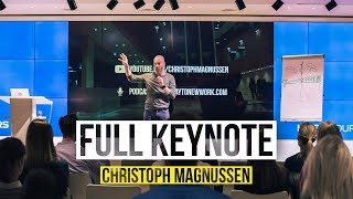 Why attitude is key for New Work and Digitization - Full Keynote by Christoph Magnussen