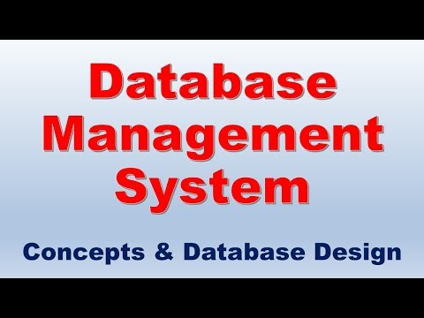 Database Management System and Database Design Course | Database Design Tutorial for Beginners |DBMS thumbnail